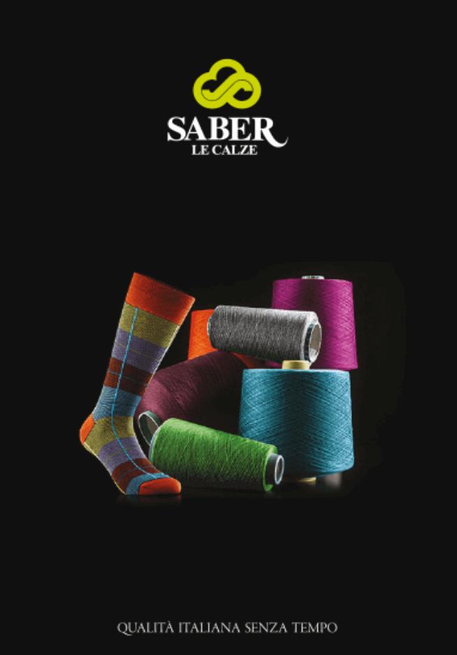 copertina brochure calzificio saber uptoart